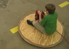 leaf blower hovercraft, my brother made one of these in middle school!