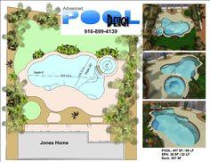 Pool rails swimming pool ladders pool handrails for Advanced landscape design