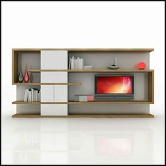 modern tv fireplace entertainment center | modern wall unit tv