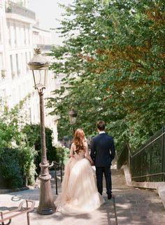 Chic Paris Engagement Shoot / Aneta Mak Photography / Bridal Musings