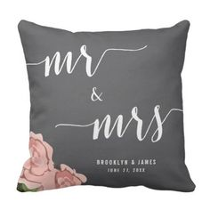 Customized Mr. And Mrs. Chalkboard Wedding ceremony Pillows. >> Take a look at even more by clicking the photo
