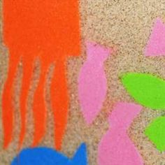 Make a Sand Card With Contact Paper