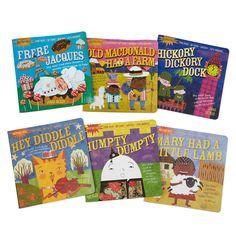 R Indestructibles Set of 3 Baby Book Set