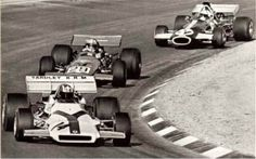 Jo Siffert finished second in the 1971 United States Grand Prix at Watkins Glen. Here he leads Jo Bonnier and Chris Craft. This was the final World Champion F1 race for Jo Siffert and Jo Bonnier. Siffert was killed in 1971 and Bonnier in 1972. Two great drivers. R.I.P.