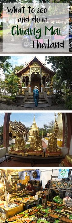 A travel guide for visiting Chiang Mai, Thailand! Everything you need to see and do during your visit!