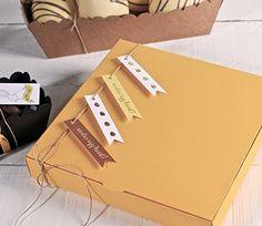 Boîte à bonbons en carton
