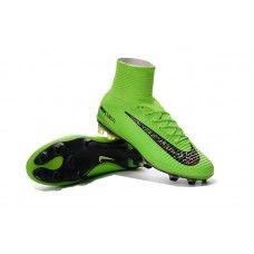 f1467ce90 Scarpe da calcio economiche NIke Mercurial Superfly V FG Solor verde-nero