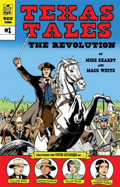 Drawing upon the increasing popularity of graphic or illustrated novels among young readers, Texas Tales Illustrated: The Revolution is an innovative retelling of the Texas revolution for independence, sure to become an invaluable classroom resource. Author Mike Kearby and illustrator Mack White designed the book for use in seventh grade Texas history courses in response to a need for more interactive textbooks, which will appeal to the learning styles of students in today's overwhelmingly…