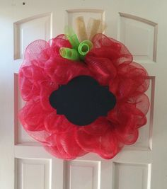 Teacher appreciation wreath