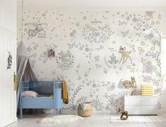 Bambi & Dumbo nursery wallpaper mural   Buy it now