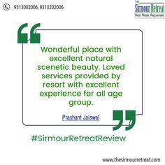 The Sirmour Retreat one of the best resort in #Nahan has a quite attractive exterior. It is a wonderful place with excellent natural scenetic beauty. Contact Us☎️ +91-9313002006 / +91-9313202006 Visit👉 https://goo.gl/LQowMt