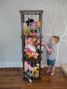 5 ft Model Stuffed animal storage by ByFolks on Etsy