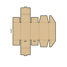 Коробка конструкция Шкатулка
