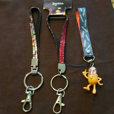 Set of 3 Key Chains 3 nice key chains Accessories