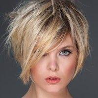 shag hairstyle for short hair