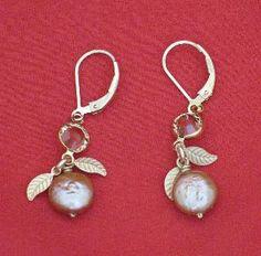 Karley Smith Karley Smiths Jewellery  Earrings Leaves (2829E2) (KS2829E2)  about Canada