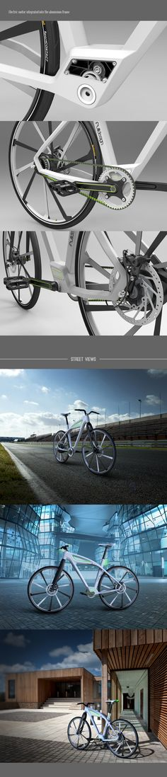 eCycle-electric bicycle design concept on Industrial Design Served