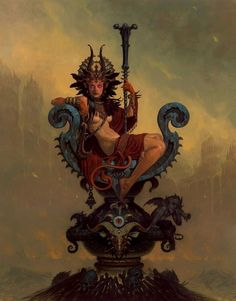 Phrrmp's Phantasies | meanwhilebackinthedungeon: – Gerald Brom