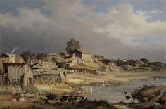 Magnus von Wright: Katajanokalta, 1868. Kansallisgalleria / Ateneumin taidemuseo. Kuva: Kansallisgalleria / Hannu Aaltonen