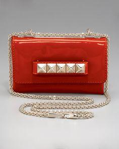 Rocker Chic - VaVa-Voom Flap Bag  by Valentino at Neiman Marcus.