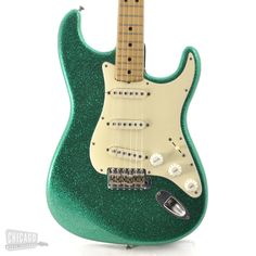 Chicago Music Exchange - Fender Stratocaster Sparkle Green 1971, $4,995.00 (http://www.chicagomusicexchange.com/electric/fender/stratocaster/fender-stratocaster-sparkle-green-1971/)
