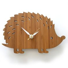 I want this clock. Cute & Quirky :)