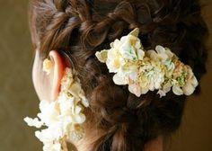 やわらかさが可愛い*『エムスール』のゆるふわ布花アクセサリーにきゅん♡のトップ画像