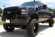 Grey Super Duty Blacked Out Ford F250 Diesel, Powerstroke Diesel, New Pickup Trucks, Lifted Trucks, Truck Mods, Truck Parts, Murdered Out, Ford Super Duty, Custom Wheels