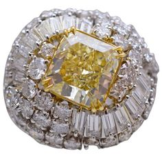 David Webb GIA Diamond Ring | From a unique collection of vintage solitaire rings at https://www.1stdibs.com/jewelry/rings/solitaire-rings/