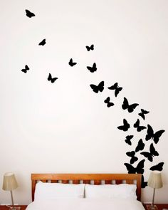 Butterfly Wall Decals on Pinterest  Butterfly Wall, Decals and Flower Wall Decals