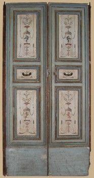 Porta antica originale, marchigiana, del 1600