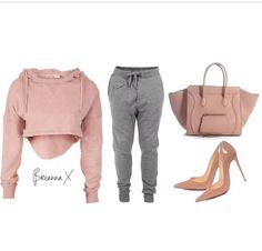 Styled for zendaya thomas Crafted hoodie, Diesel trackpants, Celine bag and Christian Loubout Dope Outfits, Swag Outfits, Fall Outfits, Casual Outfits, Fashion Outfits, Casual Attire, Fashion Story, Pretty Outfits, Dope Fashion