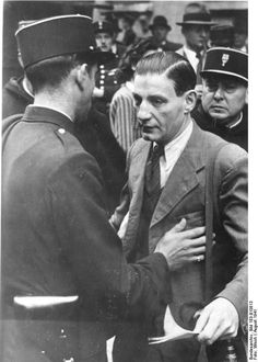 On demands from the Germans, French police round up and deport Jews from Paris, August 1941.
