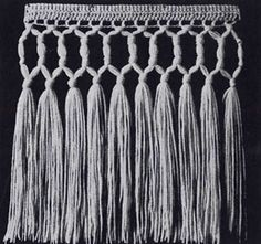 Beading Fringe Pattern | Crochet Patterns