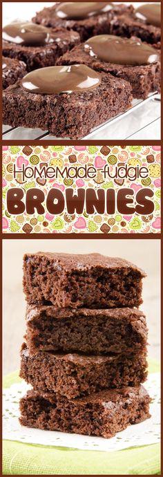 Homemade Fudgie Brownies