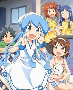 Squid Girl! Seriously, it looks like a childrens anime, and it probably is but it was actually really funny so i bought the dvd :)