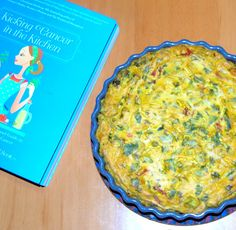 Holy Cow!: Eggless Broccoli-Tomato Frittata from Kicking Cancer in the Kitchen: Cook That Book