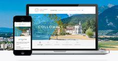 Commune de Collombey-Muraz Communication, Web Design, Design Web, Communication Illustrations, Website Designs, Site Design