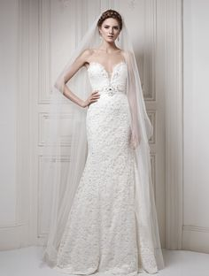 Ersa Atelier Luminous Lana $529.99 Ersa Atelier WEDDING - 2014 COLLECTION