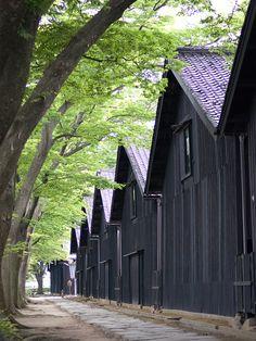 Sankyo Soko (Storehouse), Sakata, Yamagata, Japan 酒田市 山居倉庫