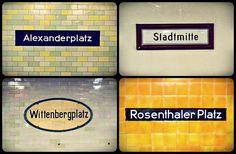 Berlin U-Bahn stations - Rosenthaler Platz is certainly a station I know all too well! Berlin City, Berlin Berlin, U Bahn Station, Bahn Berlin, Berlin Photos, S Bahn, First Wedding Anniversary, Find Cheap Flights, Best Hotel Deals