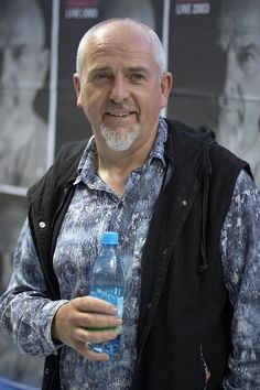 I'm Peter Gabriel and I'm beautiful always. ok lol. .  . Best Singer Ever. Love ya man