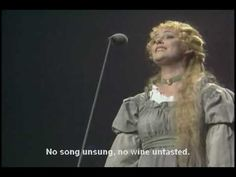 The famous song from Broadway and West End hit musical Les Miserables 'I dreamed a dream' sung by the character Fantine. Ruthie Henshall played Fantine here in the 10th Anniversary Concert at the Royal Albert Hall London giving an amazingly moving performance. One not to be missed.    The DVD and soundtrack are available now and can be found on ...
