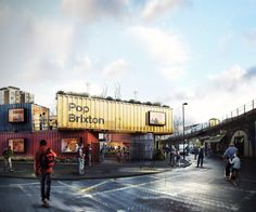 Pop Brixton is a buzzing new container community with a conscience in the South of London.