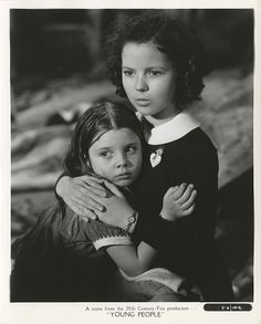 "Diane Fisher (1932-2008) and Shirley Temple (1928-2014), ""Young People"", 1940"