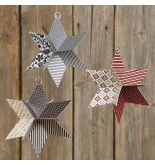 Ein Stern in aus ausgestanztem Vivi Gade Design Papier Origami Folding, Origami Easy, Origami Paper, Diy Paper, Origami Bird, Christmas Origami, Christmas Crafts, Christmas Ornaments, Japanese Christmas