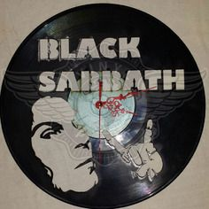23,50 € Horloge vinyle décoration Black Sabbath - Dio Vinyl Record Clock, Record Art, Vinyl Records, Boutique, Profile View, Black Sabbath, Scroll Saw, Vinyl Art, Vintage