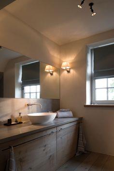 "Bed & breakfast ""Rolleken 24"" in Belgium.  Renovation by architect Stephane Boens.  Image via the magazine ""Home Sweet Home""."