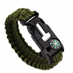 The Paracord Survival Bracelet is essential for all camping a8486871ea2