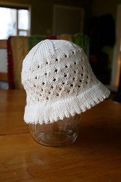 child's sunhat {free pattern}